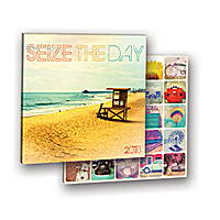 Seize the Day Album Calendar 2018 by Orange Circle Studio