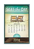 Take Me Back to Paradise Wood Block Desk Calendar 2018 by Orange Circle Studio