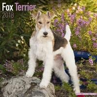 Fox Terrier Wall Calendar 2018 by Avonside