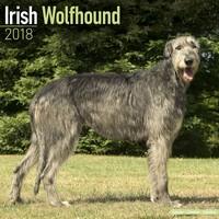 Irish Wolfhound Wall Calendar 2018 by Avonside