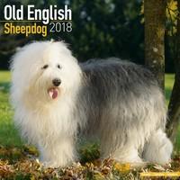 Old English Sheepdog Wall Calendar 2018 by Avonside