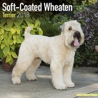 Softcoat Wheaten Terrier Wall Calendar 2018 by Avonside