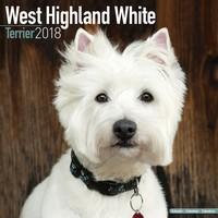 West Highland Terrier Wall Calendar 2018 by Avonside