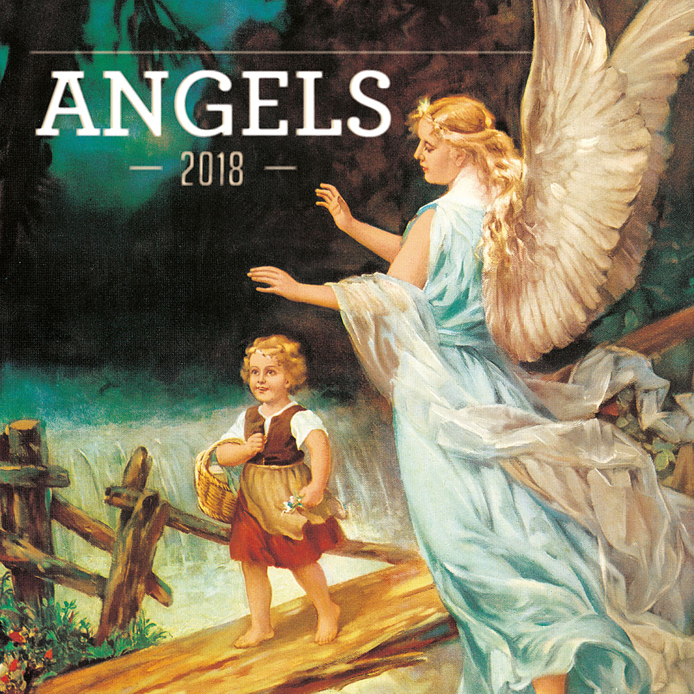 Angels Calendar 2018 by Presco Group 8595054248086