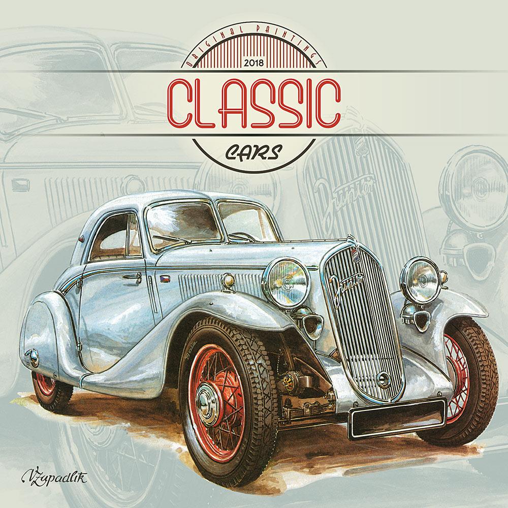 Classic Cars by Vaclav Zapadik Calendar | Planes, Trains & Automobiles