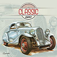 Classic Cars by Vaclav Zapadik Calendar 2018 by Presco Group