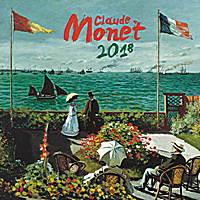 Claude Monet Calendar 2018 by Presco Group