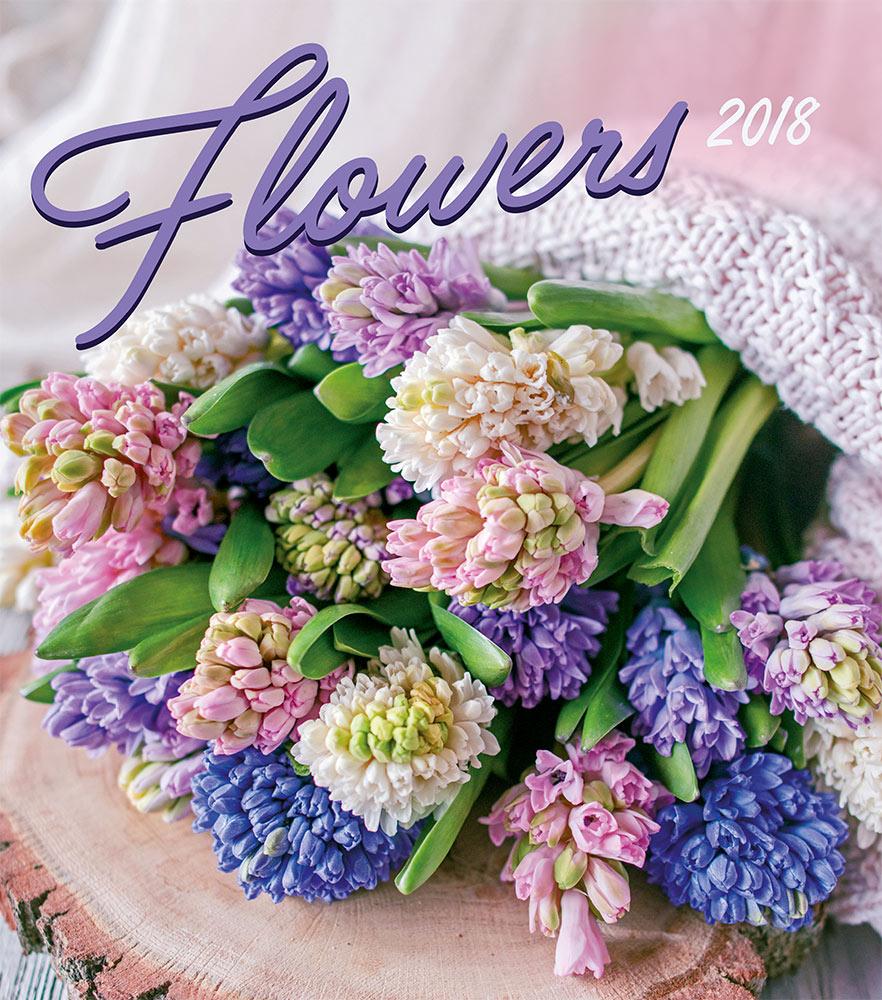 Flowers Calendar 2018 by Presco Group 8595054250034