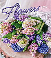 Flowers Calendar 2018 by Presco Group
