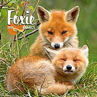 Foxie Family Calendar 2018 by Presco Group