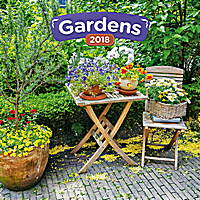 Gardens Calendar 2018 by Presco Group 8595054250065