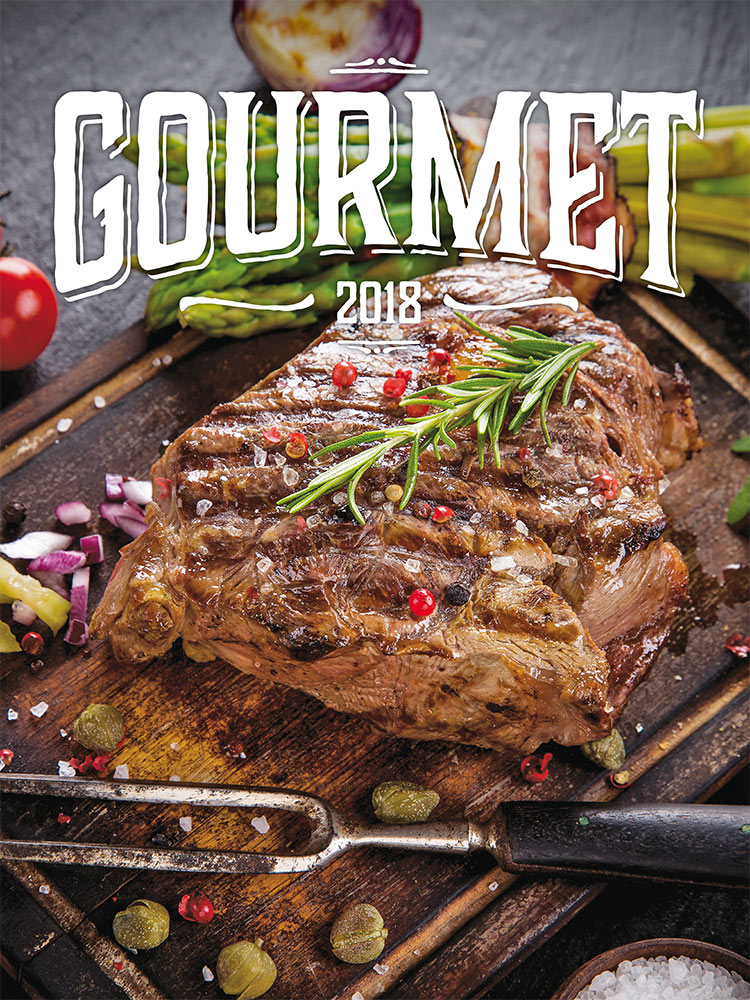 Gourmet Calendar 2018 by Presco Group 8595054249823