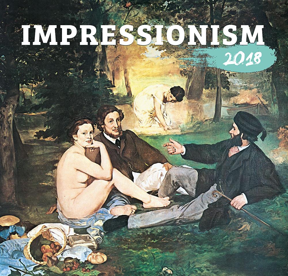 Impressionism Calendar 2018 by Presco Group 8595054247317