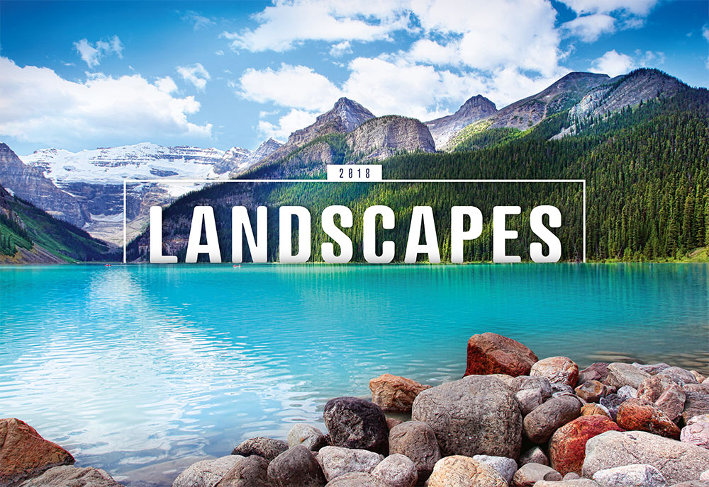 Landscapes Calendar 2018 by Presco Group 8595054247133