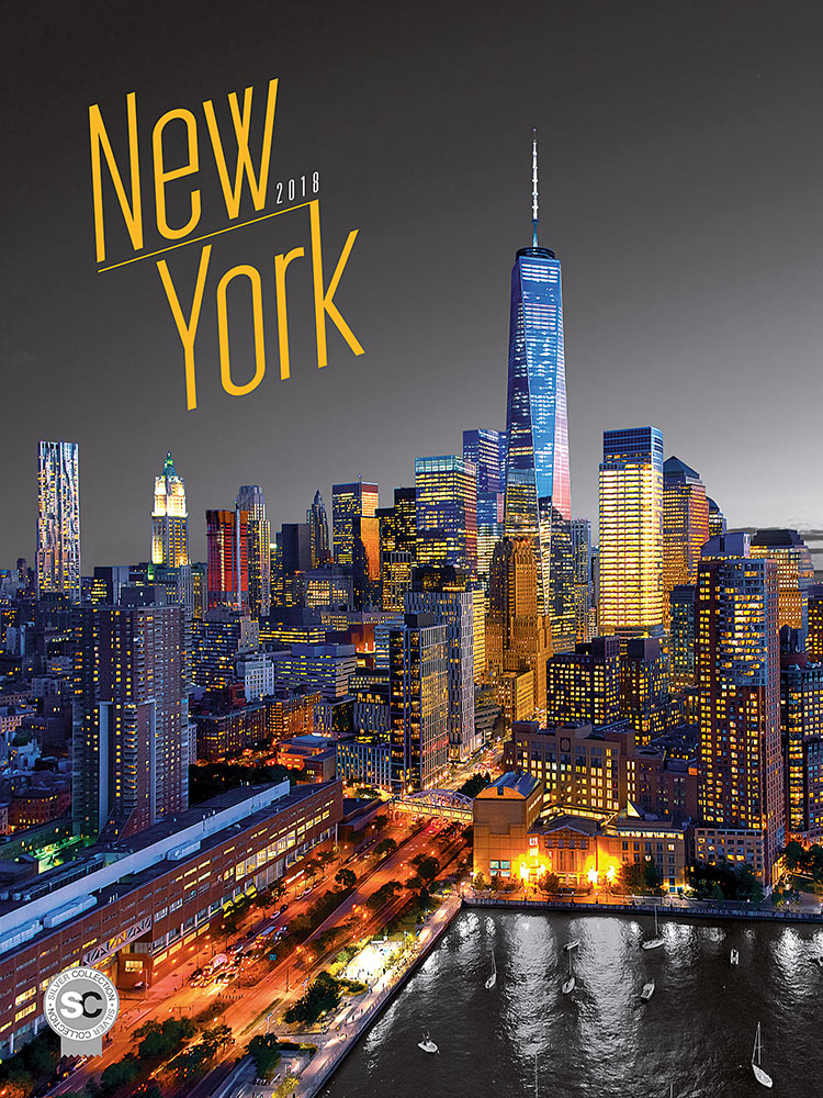 New York Poster Calendar 2018 by Presco Group 8595054250461