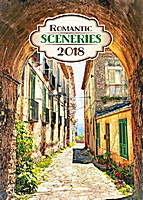 Romantic Sceneries Calendar 2018 by Presco Group 8595054247065