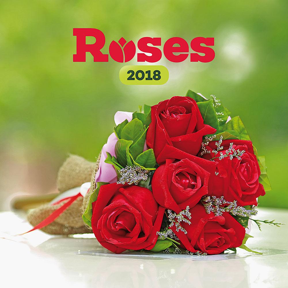 Roses Calendar 2018 by Presco Group 8595054249984