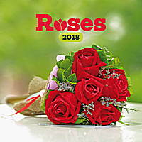 Roses Calendar 2018 by Presco Group