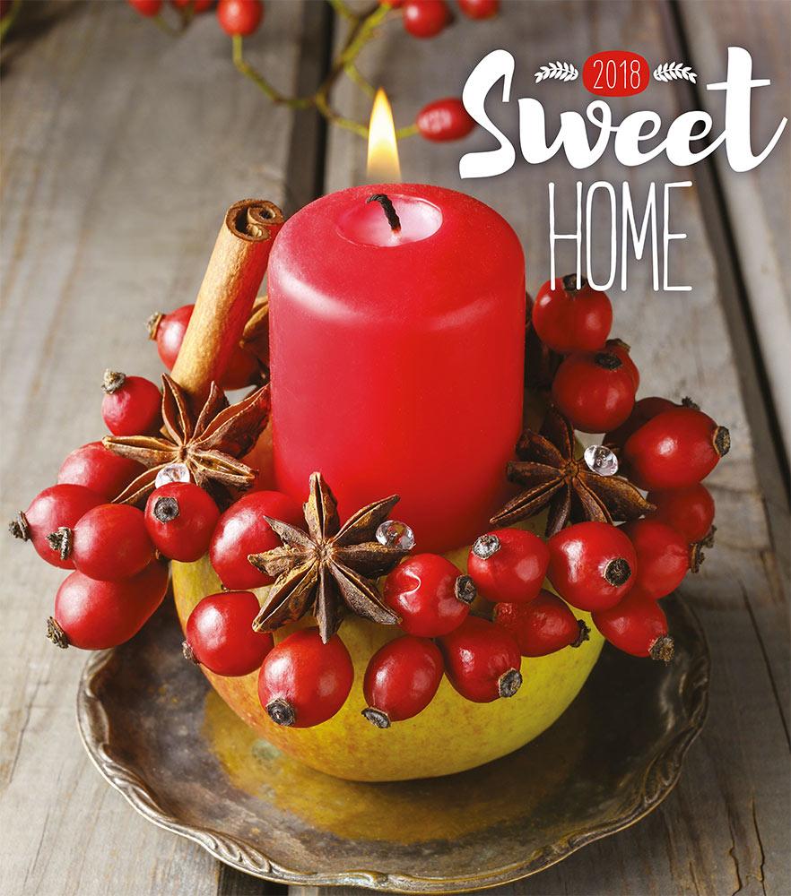 Sweet Home Calendar 2018 by Presco Group 8595054247058
