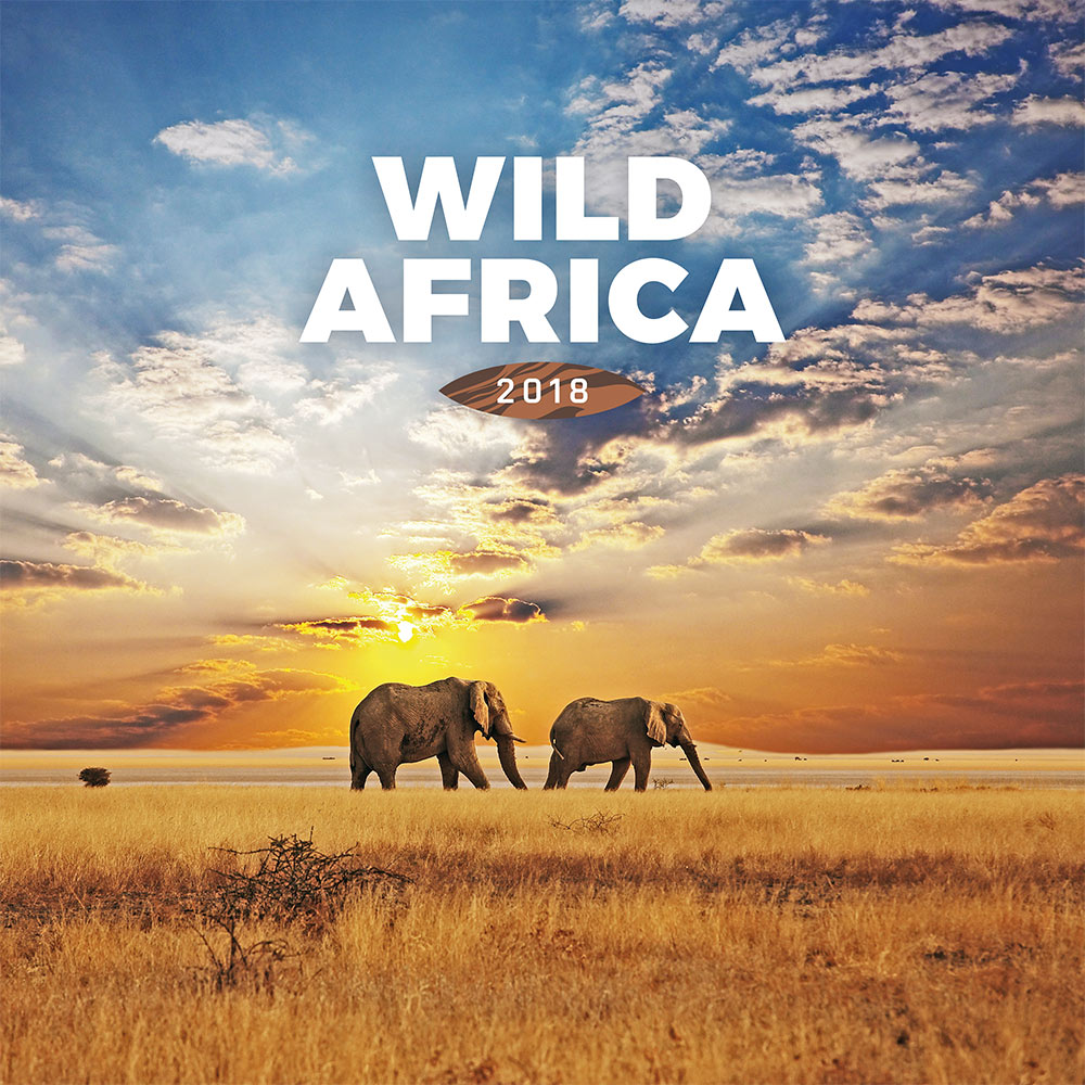 Wild Africa Calendar 2018 by Presco Group 8595054251024