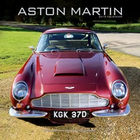 Aston Martin Wall Calendar 2018 by Avonside