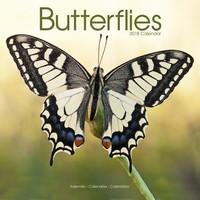 Butterflies Wall Calendar 2018 by Avonside