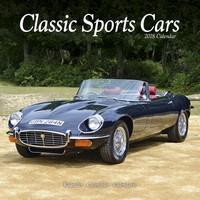 Classic Sports Cars Wall Calendar 2018 by Avonside