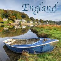 England Wall Calendar 2018 by Avonside