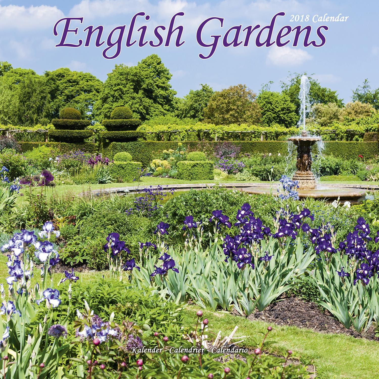 Secret Garden: English Gardens Calendar 2018 30233-18