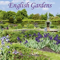 English Gardens Wall Calendar 2018 by Avonside