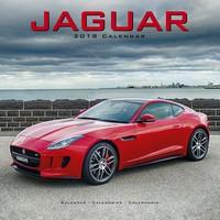 Jaguar Wall Calendar 2018 by Avonside