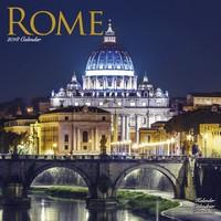 Rome Wall Calendar 2018 by Avonside