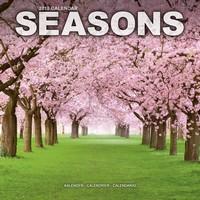 Seasons Wall Calendar 2018 by Avonside