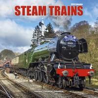 Steam Trains Wall Calendar 2018 by Avonside