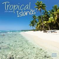 Tropical Islands Wall Calendar 2018 by Avonside