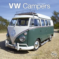 Vw Campers Wall Calendar 2018 by Avonside