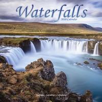 Waterfalls Wall Calendar 2018 by Avonside