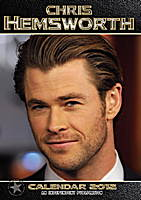 Chris Hemsworth Celebrity Wall Calendar 2018