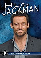 Hugh Jackman Celebrity Wall Calendar 2018