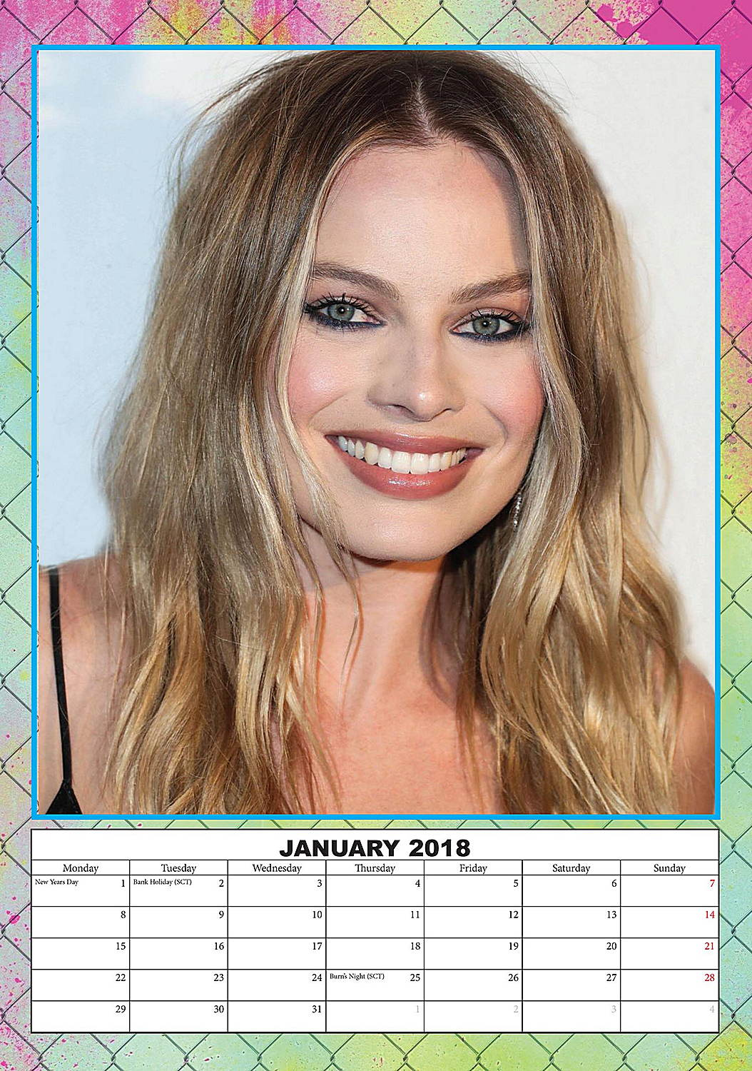 65 Best Celebrity Calendars images in 2019 | 2019 calendar ...