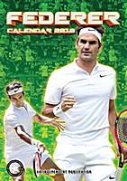 Roger Federer Celebrity Wall Calendar 2018