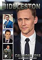 Tom Hiddleston Celebrity Wall Calendar 2018