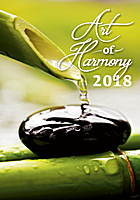 Art of Harmony Wall Calendar 2018 by Helma