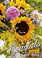 Bouquets Wall Calendar 2018 by Helma