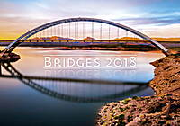 Bridges Wall Calendar 2018 by Helma