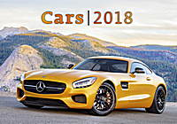 Cars Wall Calendar 2018 by Helma
