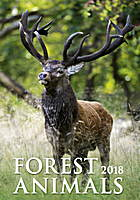 Forest Animals Wall Calendar 2018 by Helma