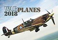 Warplanes Wall Calendar 2018 by Helma