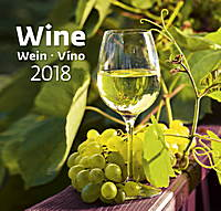 Wine Wall Calendar 2018 by Helma