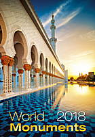 World Monuments Wall Calendar 2018 by Helma